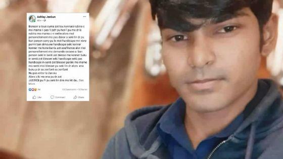 Sur Facebook : le fils de « Chachi Rubina » présente des excuses