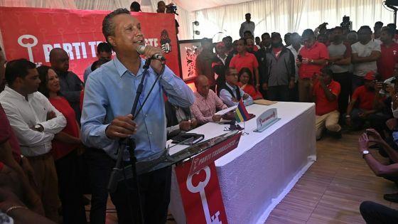 Assirvaden : «Le PTr n'est pas attaché au poste de Premier ministre ni à celui de leader de l'opposition»