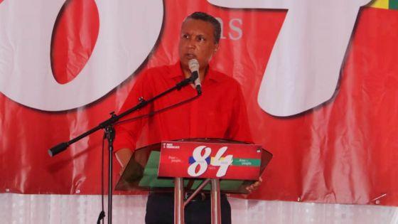 «La division est le plus grand danger pour le Ptr en 2020», dit Assirvaden