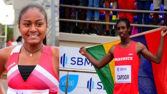 [Images] JIOI - Athlétisme : deux médailles d'or pour Maurice en sport adapté