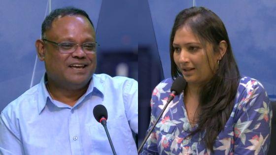 Au Cœur de l'Info : Tania Diolle et Mahen Gungaparsad sur le plateau de Radio Plus ce mardi