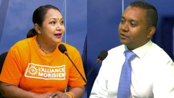 Au Coeur de l'Info : Kalpana Koonjoo-Shah et Deepak Balgobin, pour la première fois ministre