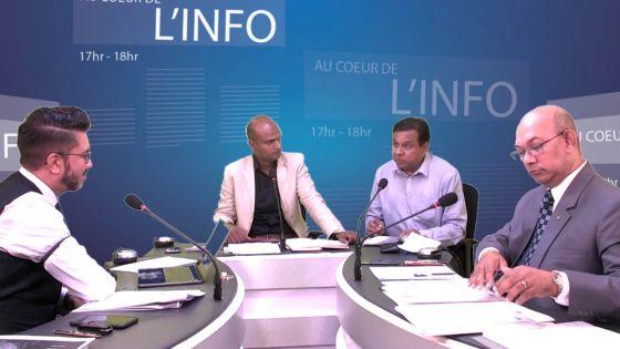 [Au Coeur de l'Info] Budget 2019-20 : suivez le face-à-face Etienne Sinatambou-Shakeel Mohamed