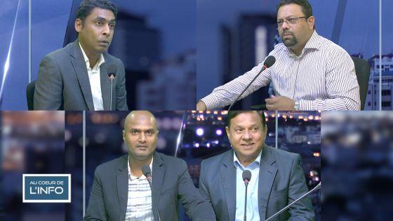 Au Cœur de l'Info : face-à-face Avinash Teeluck/Khushal Lobine ce vendredi