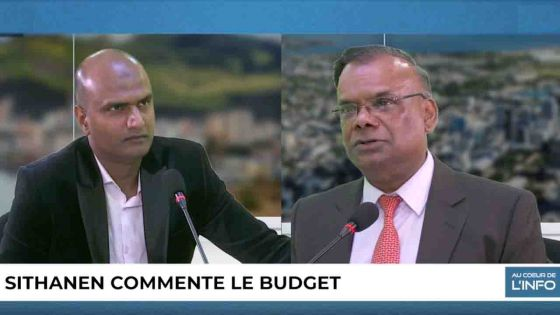 Au Coeur de l'Info : Rama Sithanen commente le Budget 2019-20