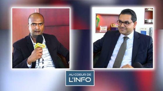 Le Gouverneur de la Banque de Maurice, l'invité de l'émission Au Coeur de l'Info ce vendredi