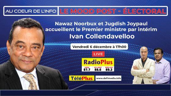 Le PM suppléant Ivan Collendavelloo l'invité de l'émission «Au Coeur de l'Info» ce vendredi