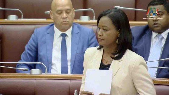 Débats budgétaires - Aurore Perraud déplore «un manque de mesures sur le développement de la famille.»