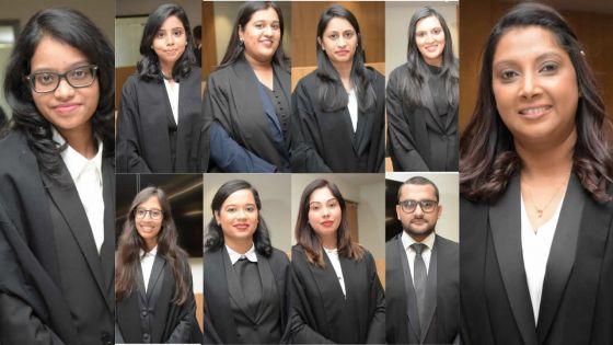 Judiciaire : 10 nouveaux avoués prêtent serment