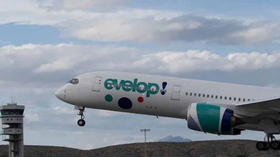 Turbulences lors d'un vol d'Evelop Airlines en provenance de Maurice : 14 passagers blessés
