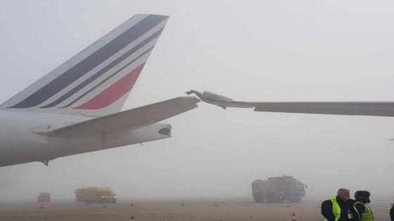Un avion d'Air Mauritius endommagé à l'aéroport de Paris-Charles de Gaulle