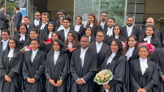 Judiciaire : 40 avocats rejoignent le barreau
