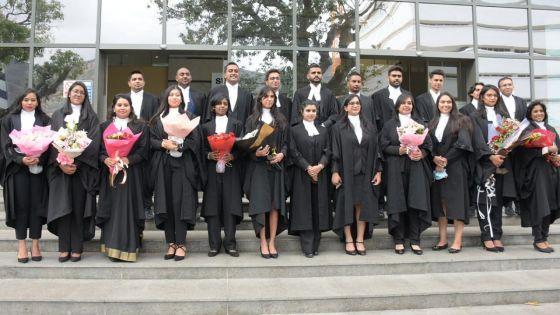 26 avocats rejoignent la profession légale