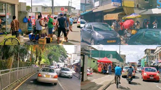 Réouverture graduelle : les rues de Bel-Air très animées ce dimanche