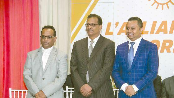 Résultats partiels no 9 : sur 9 600 bulletins dépouillés, l'Alliance Morisien est en tête