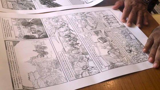 Publication : le troisième tome de l'histoire de Maurice en BD prêt cette année