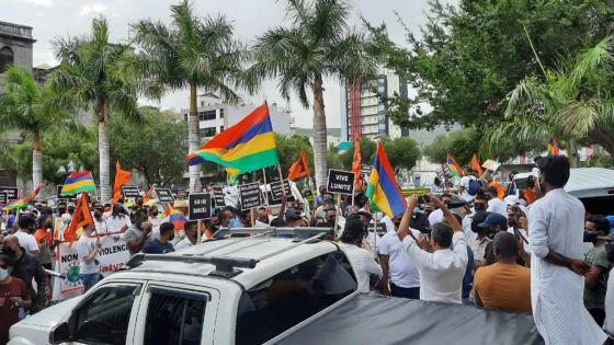 Marche pacifique à Port-Louis : plaidoyer en faveur de l'unité au Bangladesh