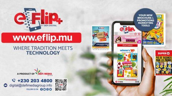 À la recherche des promos ? Consultez eFlip+, votre brochure numérique
