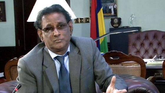 Le président de la République par intérim, Barlen Vyapooree, se confie avant son départ