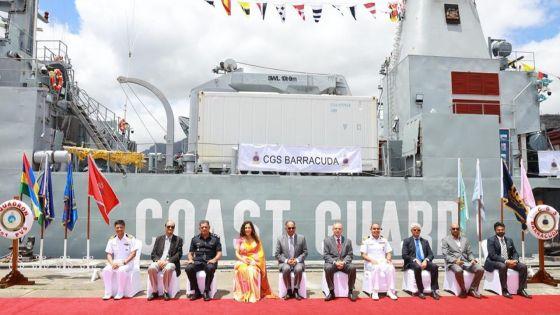 En Inde pour des réparations : le CGS Barracuda de retour sept mois après