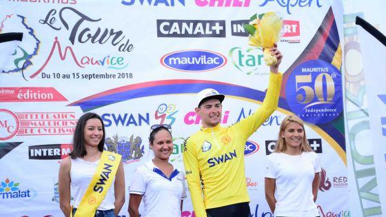Tour de Maurice de cyclisme :  Grégory Lagane cède le maillot jaune à Basson