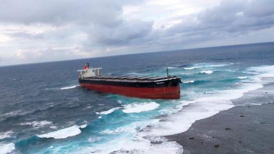 Naufrage du Wakashio : faible risque de déversement d'hydrocarbure