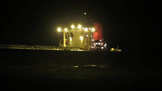 Un bateau en difficulté au large de Blue Bay