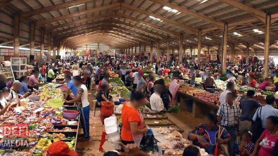 Covid-19 : le marché de Rose-Belle reste fermé jusqu'à nouvel ordre