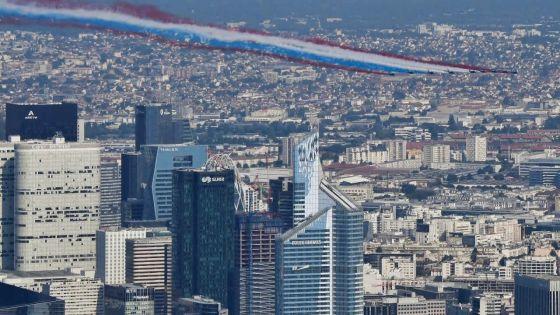 [En images] France et Mondial 2018 : le défilé du 14 juillet ouvre un week-end bleu blanc rouge