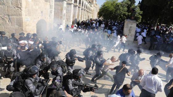 4 Minutes aux 4 Coins du Monde : Jérusalem, heurts sur l'esplanade des Mosquées provoquant des dizaines de blessés