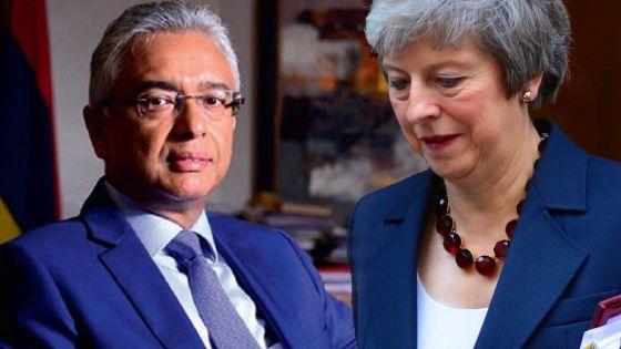 Londres : Pravind Jugnauth à la rencontre de Theresa May sur le dossier Chagos
