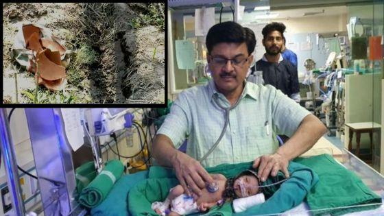 Inde : un nourrisson de sexe féminin retrouvé vivant dans une tombe