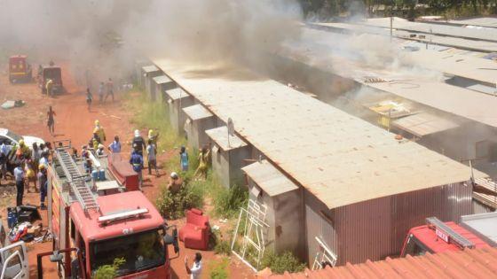 Incendie à Cité Longère, Baie-du-Tombeau : deux bébés transportés d'urgence à l'hôpital