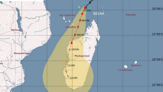 Tempêtes : Ambali influencera le temps à St-Brandon ; Belna s'approche de Mayotte