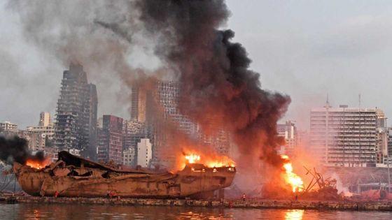 Explosions à Beyrouth : «J'ai cru à un tremblement de terre»