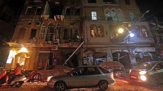 Beyrouth: jusqu'à 300.000 personnes sans domicile après les explosions