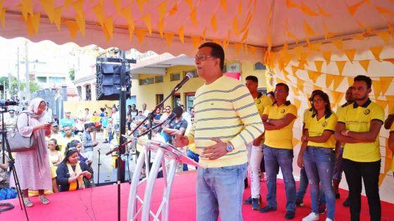 Contribution financière par la BAI : Roshi Bhadain cible le MSM et le MMM
