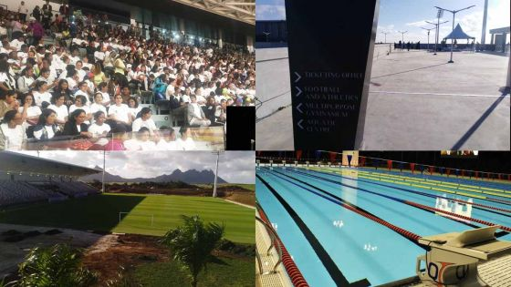 [En images] Complexe sportif de Côte-d'Or : un «bijou» au coût de Rs 4,7 milliards