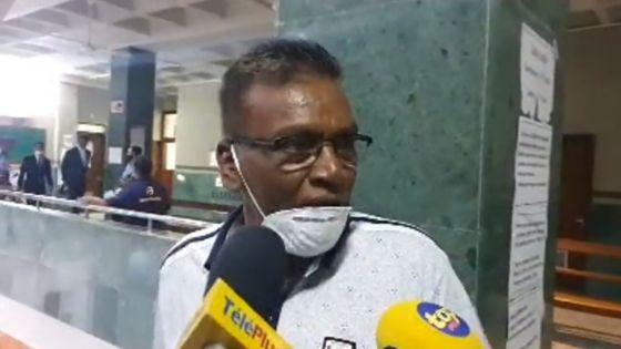 Déclaration de Bissoon Mungroo après sa libération sous caution