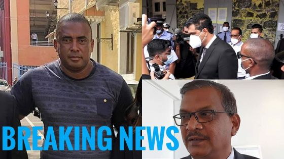 Private Prosecution de Bruneau Laurette contre Ramano et Maudhoo : le DPP dépose une motion de «discontinuance of proceedings»