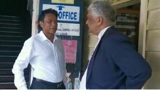 Incident à Grand-Bassin : Bodha porte plainte, en présence de son avocat, Me Valayden, au CCID