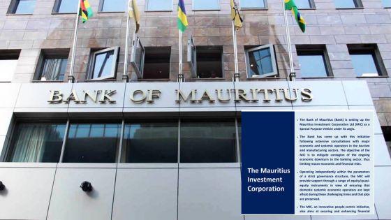 Finances publiques : la BoM verse Rs 60 milliards à l'État pour soutenir l'économie
