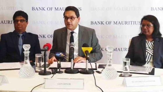 Banque de Maurice : suivez en direct la conférence de presse du comité sur la politique monétaire