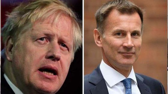Grande-Bretagne : Boris Johnson et Jeremy Hunt en finale pour succéder à Theresa May