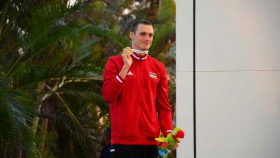 JIOI - Natation : le sourire revient pour le nageur mauricien, Bradley Vincent