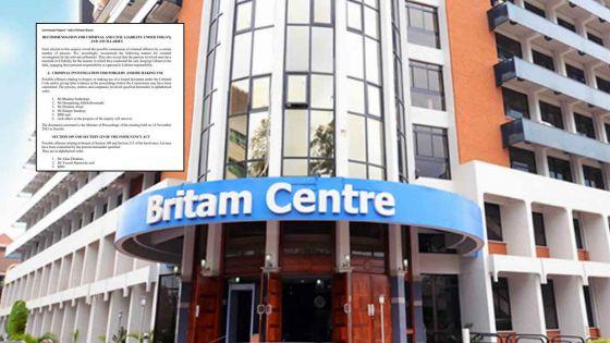 Découvrez le rapport de la commission d'enquête sur Britam dans son intégralité
