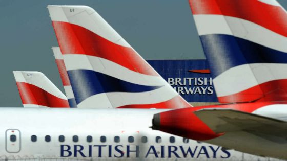 La British Airways dit être victime de piratage