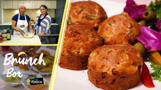 «Brunch Box» : des muffins légumes et fromage, audace gourmande