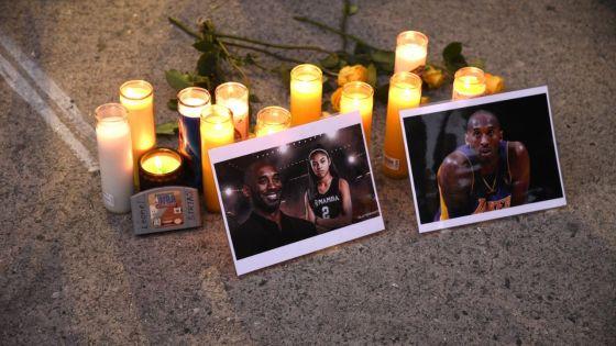 [En images] Pluie d'hommages après la mort de la légende de la NBA Kobe Bryant