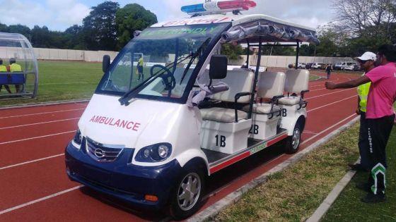[En images] JIOI : deux «Buggy Ambulances» au service des athlètes